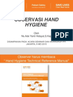 Audit Hand Hygiene