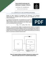 Ecuacion de Balance de Materia Para Yacimientos de Gas
