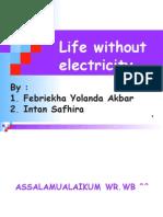 Bahasa Inggris Life Without Electricity