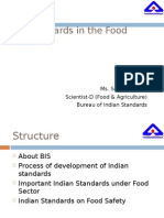 BIS standards in food sector.ppt
