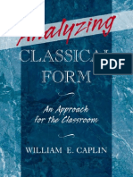 Caplin - Analyzing Classical Form
