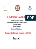 Lecture of Organic Chemistry