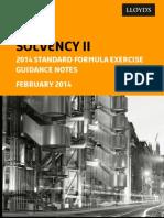 Solvency II 2013ye Sf Guidance Final