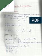 Chapitre 6 - Algebre Lineaire