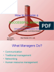 Successful Manager