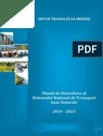 Plan de Dezvoltare Pe 10 Ani 2014 - 2023 14.12.2014 Fara Semnaturi