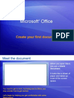 Create your first document.ppt