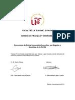 Convenios de doble imposición suscritos por España y Modelos de la OCDE