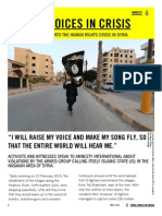 """Amnesty - """"Syria"""