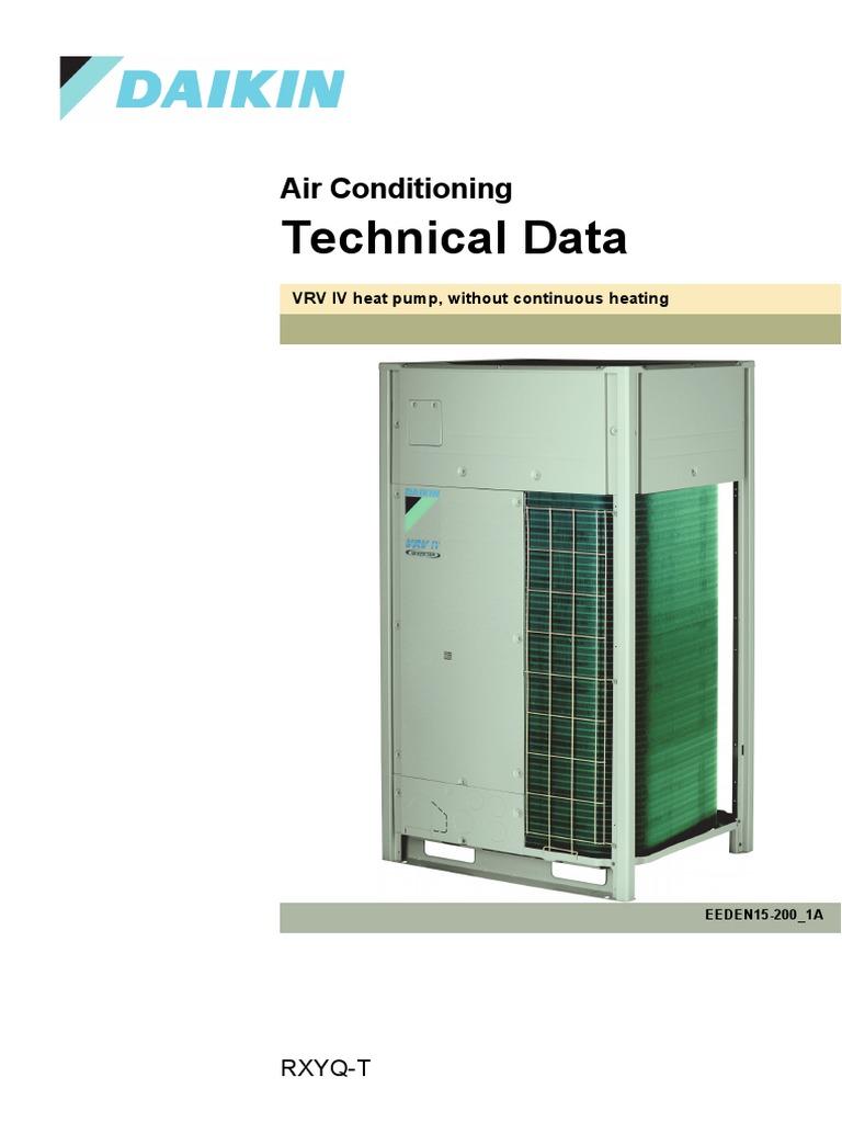 RXYQ-T.pdf | Air Conditioning | Hvac