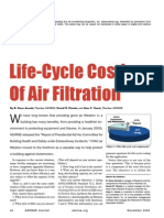 Life-Cycle Costing of Air Filtration