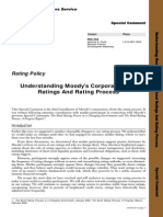 Understanding Moody's Corporate Bond Rating Process
