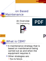 Condition Based Maintenance Overviewv97