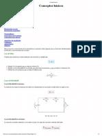 Conceptos básicos AMPERIMETRO