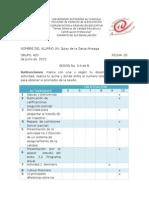 Autoevaluación SESIÓN 3-4 de 8 Tercer Parcial