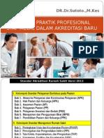 Evaluasi Praktik Profesional Staf Medis