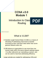 CCNA3 3.1-01 Routing