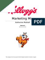 Kelloggs Marketing Mix