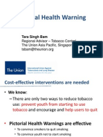 Tobacco control in Nepal and Indonesia - Dr Tara Singh Bam