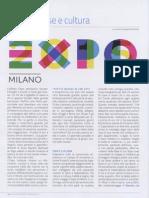 """EXPO """"Tra kermesse e cultura""""  (Voce di Seriate 05.2015)"""
