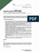 Equiparazione Categorie Universita'-Comune - Decreto Universita' Firenze