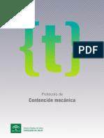 Protocoloco Contencion Mecanica  SAS