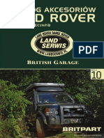 British Garage Web Catalog