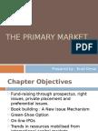 The Primary Market