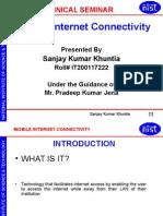 Mobile Internet Connectivity
