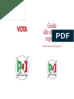 Come Si Vota Regionali 2015