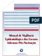 Guia de Vigilância  Epidemiológica - Efeitos Adversos de Vacinas