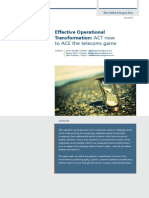 Effective Operational Transformation