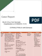 Eklampsia + Plasenta Previa