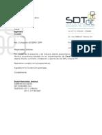 SDT2098 Radio Enlace Cesof
