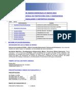 Informe Diario Onemi Magallanes 27.05.2015