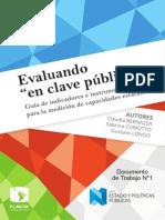 AA.vv. - Evaluando en Clave Pública (FLACSO)