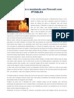 Entendendo e Montando Um Firewall Com IPTABLES