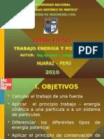 Trabajo-Energia y Potencia Mecanica