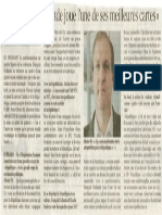 Figaro 27 Mai 2015 Hollande Joue l'Une de Ses Meilleures Cartes