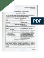 Stanford Dr Dake MRI MRV Protocol 1.5 Tesla