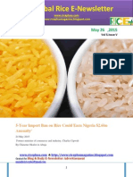 26th May (Tuesday),2015 Daily Global Rice E_Newsletter by Riceplus Magazine