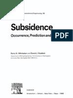Subsidence Gc