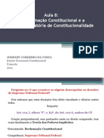 Aula n. 8 - Direito Processual Constitucional