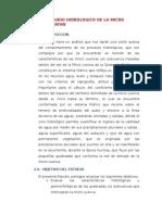 Estudio Hidrologico de La Micro Cuenca Batan