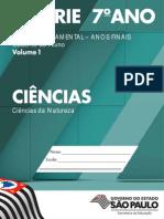 Ciências 6S 7A EF Volume 1 (2014)