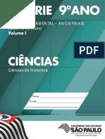 Ciências 8S 9A EF Volume 1 (2014)