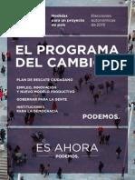 Programa Marco Podemos
