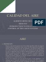 Calidad Del Aire (Alberto Ortiz)