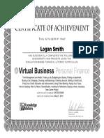 virtual business certificate