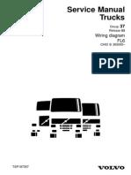 volvo wiring diagram fl6 pdf cable electrical connector rh scribd com Volvo Fuel Pump Wiring Diagram Volvo XC90 Wiring-Diagram